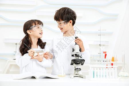 小小科学家显微镜观察记录图片