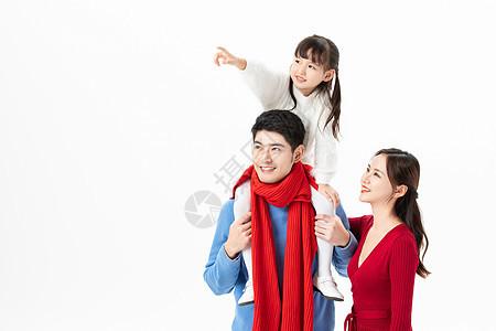节日欢乐家庭形象图片