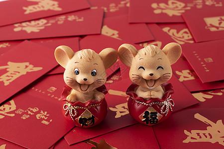 2020鼠年红包图片