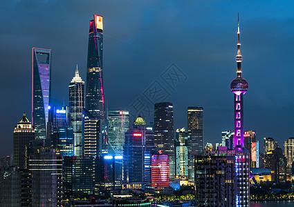 上海国庆70周年夜景图片