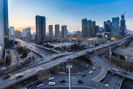 上海进博会外滩夜景灯光秀图片