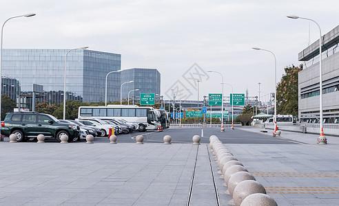 虹桥火车站广场图片