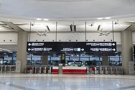 地铁站指示牌图片