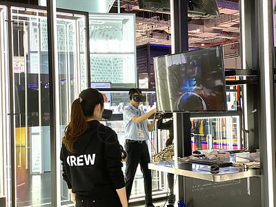 上海进博会VR虚拟现实体验【媒体用图】(仅限媒体用图使用,不可用于商业用途)图片