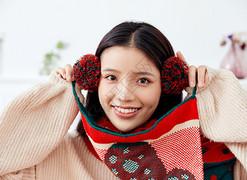圣诞节-人像摄影图