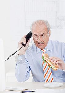男商人打电话图片