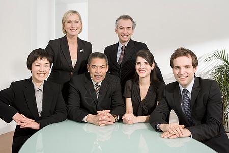 商务会议的肖像图片