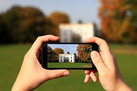 用手机拍照图片