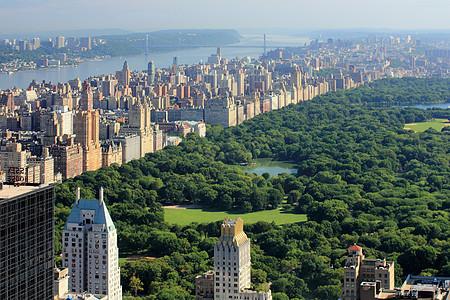 曼哈顿市中心和中央公园图片