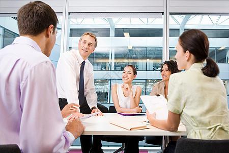 公司商务会议图片
