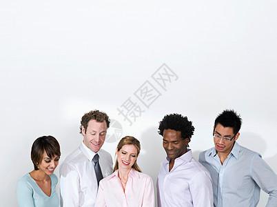 敬业的商业团队图片