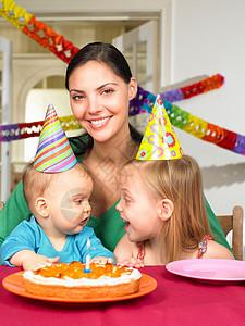 母亲和孩子们,庆祝图片