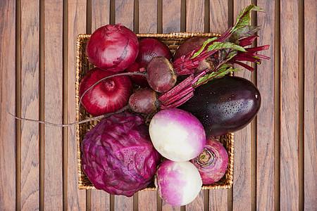 紫色蔬菜图片
