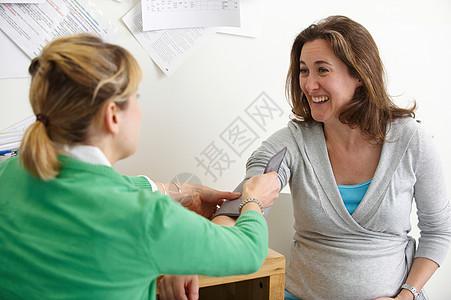 女患者带医生图片