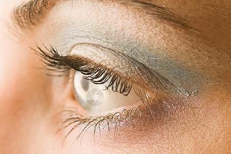 女人的眼睛特写镜头图片