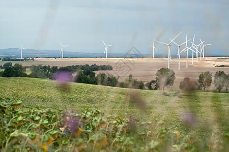 风电场景观图片