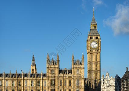 英国伦敦议会大厦图片