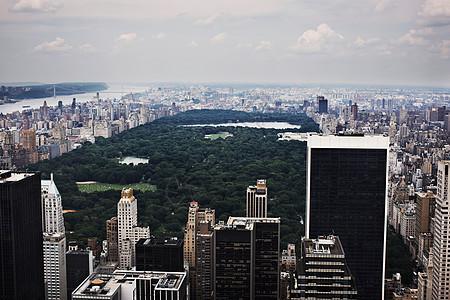 纽约摩天大楼鸟瞰图图片