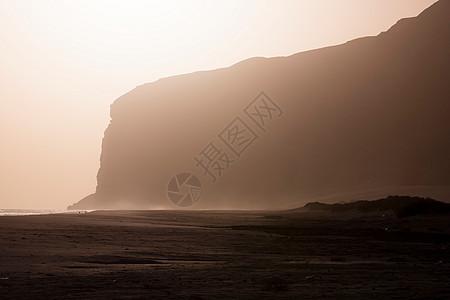 也门索科特拉卡拉日落图片