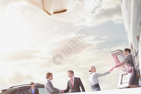 业务主管团队图片