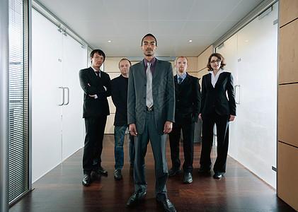 黑人商人和他的团队图片