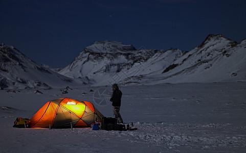 雪域营地图片
