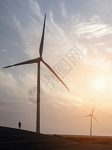 风力发电车图片