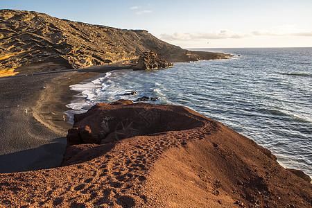 加那利群岛兰萨罗特国家公园景观图片
