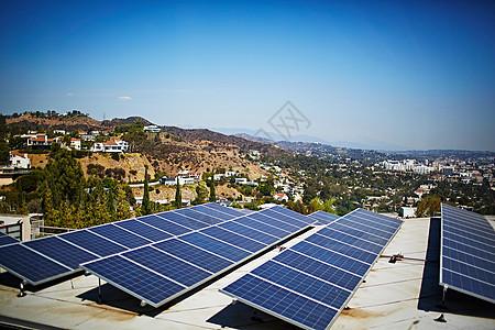 美国加利福尼亚洛杉矶太阳能电池板图片