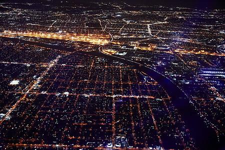 美国纽约布鲁克林夜景图片