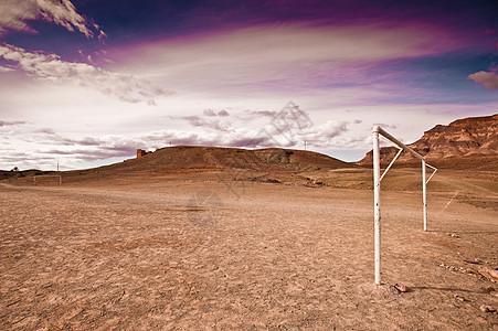 摩洛哥l村足球场图片