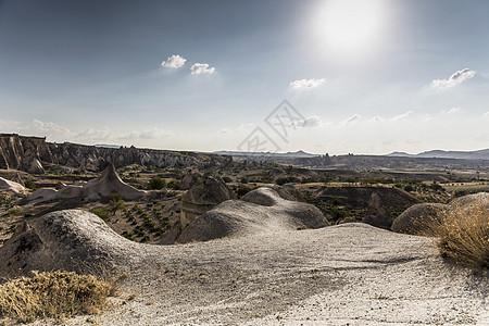 土耳其安纳托利亚卡帕多西亚岩层景观视图图片