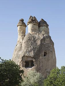 土耳其安纳托利亚卡帕多西亚岩层建筑外部图片