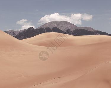 美国科罗拉多州沙丘公园景观图片