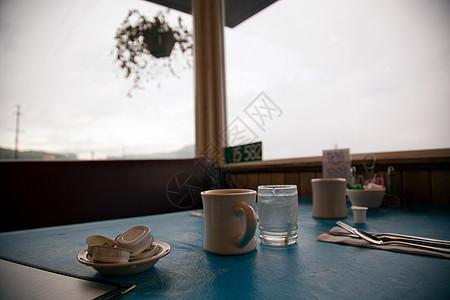 餐厅早餐桌套图片