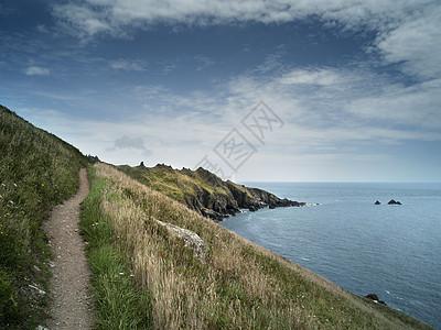 英格兰多塞特海岸路图片