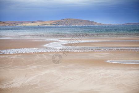 苏格兰高地盖洛赫红点海滩图片