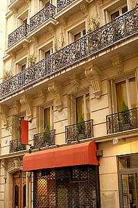 巴黎街图片
