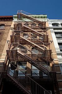 纽约公寓楼图片