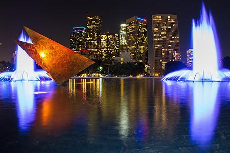 美国加利福尼亚州洛杉矶市中心图片