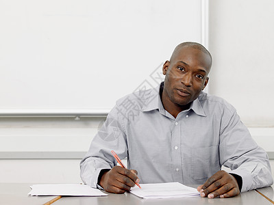 教师批改文书图片