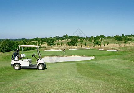 高尔夫球车图片