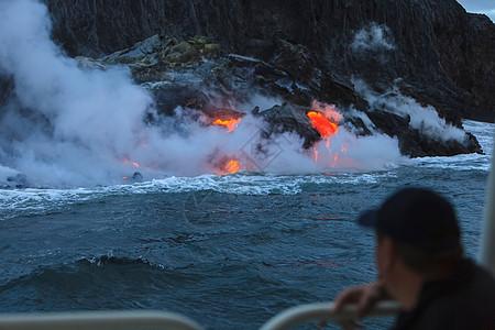 基拉韦厄熔岩流卡拉帕纳大图片