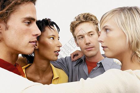 讨论中的商人图片