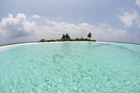 马尔代夫Huvadhu环礁北部Mathidhoo岛图片