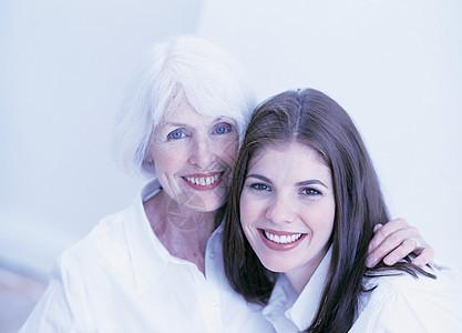 外婆孙女画像图片
