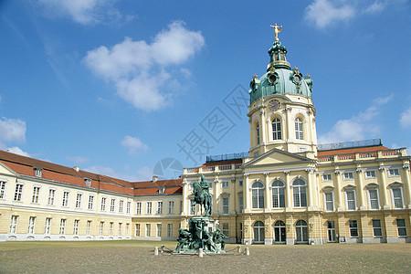 德国柏林夏洛滕堡城堡图片