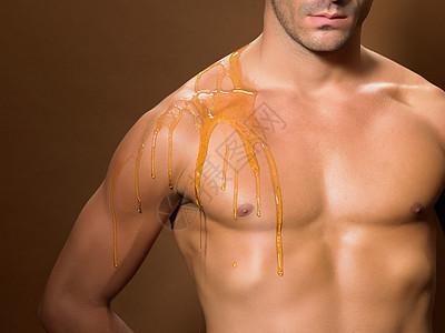 男人的胸膛图片