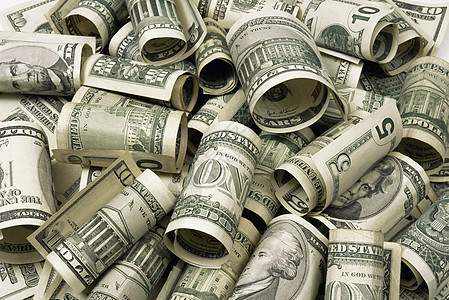 美元钞票图片