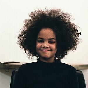 黑人女孩图片